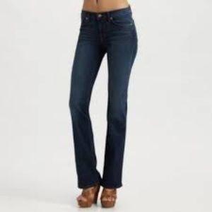 J Brand Slim Boot Classic Jeans high rise